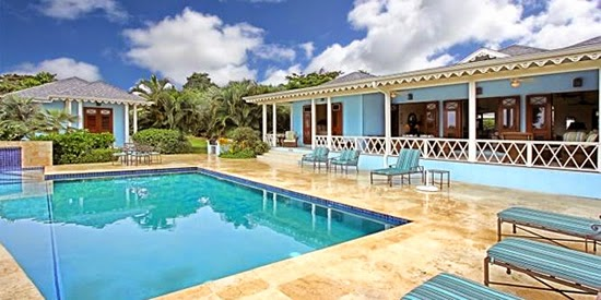 Luxury home for sale with pool on Nevis