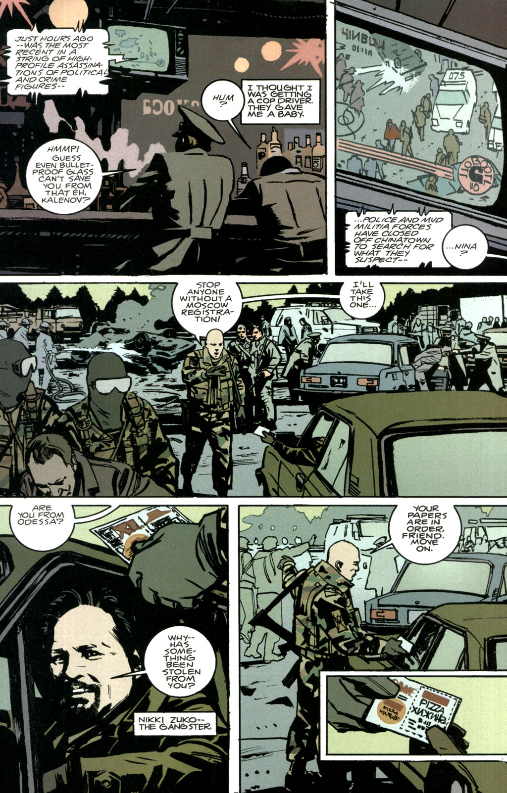 Read online The Winter Men comic -  Issue #1 - 20