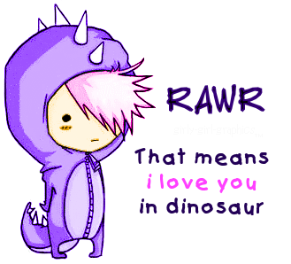 I love you, in Dinosaur