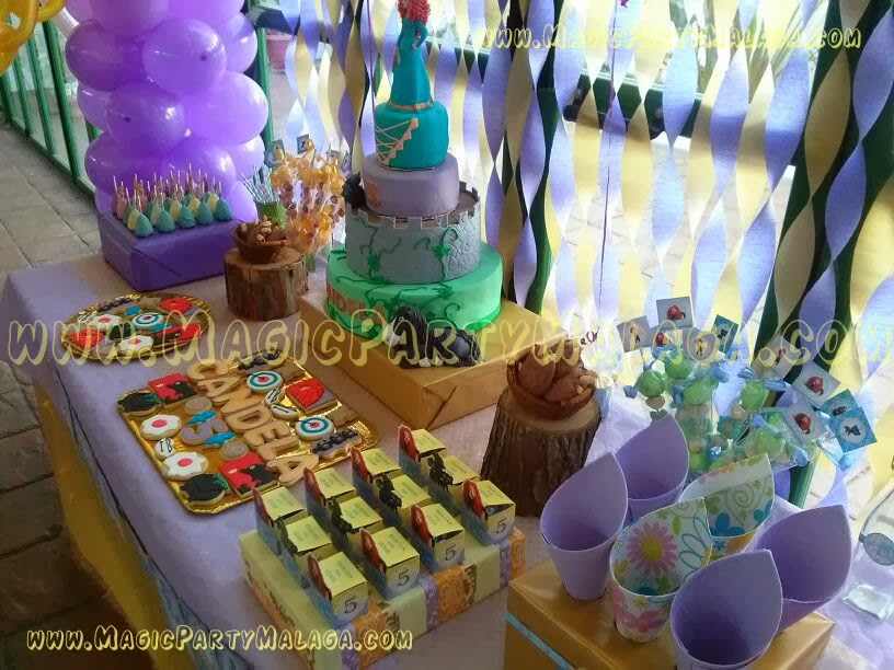 Decoracion Karaoke Party ~ fiestas tematicas ninas fiesta tematica rapunzel para 8 invitados Car