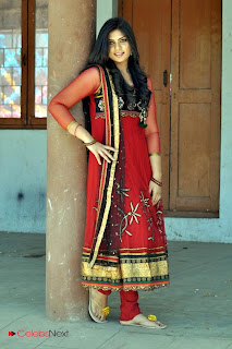 Deepsika Picture Gallery in Salwar Kameez at Jayan Creations Movie Opening 0013