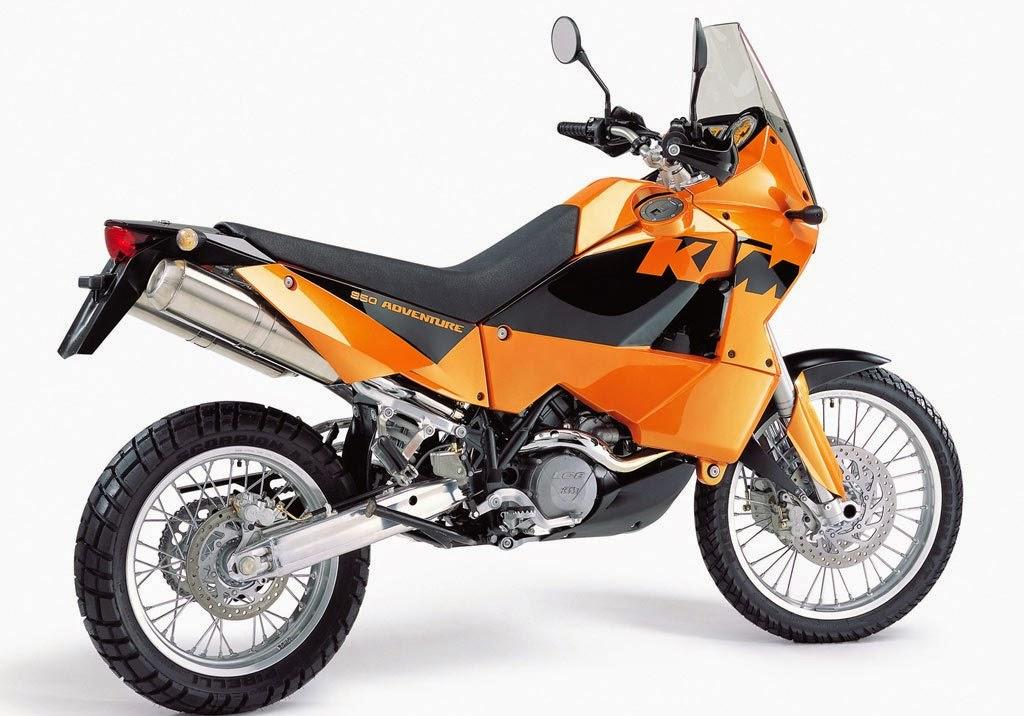 KTM 950 Adventure S Orange Used Bikes