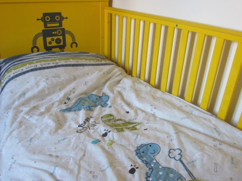 Elegant I have always loved bright colours for J and his bedding is turquoise so the two go together really well You can always rely on Cosatto to introduce bright