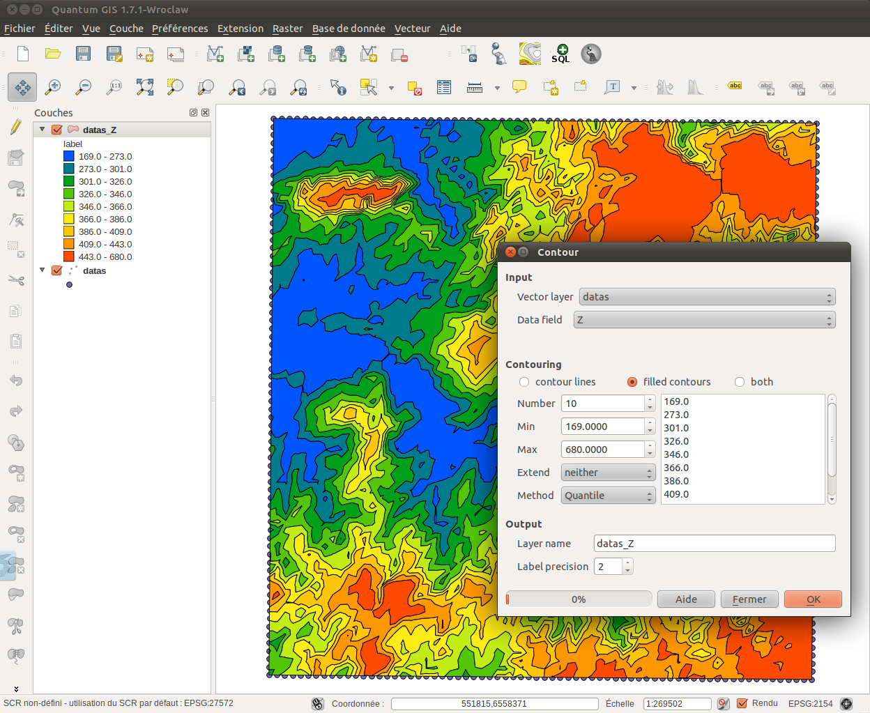 Contour plugin for qgis version 090 you are a legend as always the plugin is available through the qgis plugin installer or directly on pyqgis ccuart Images