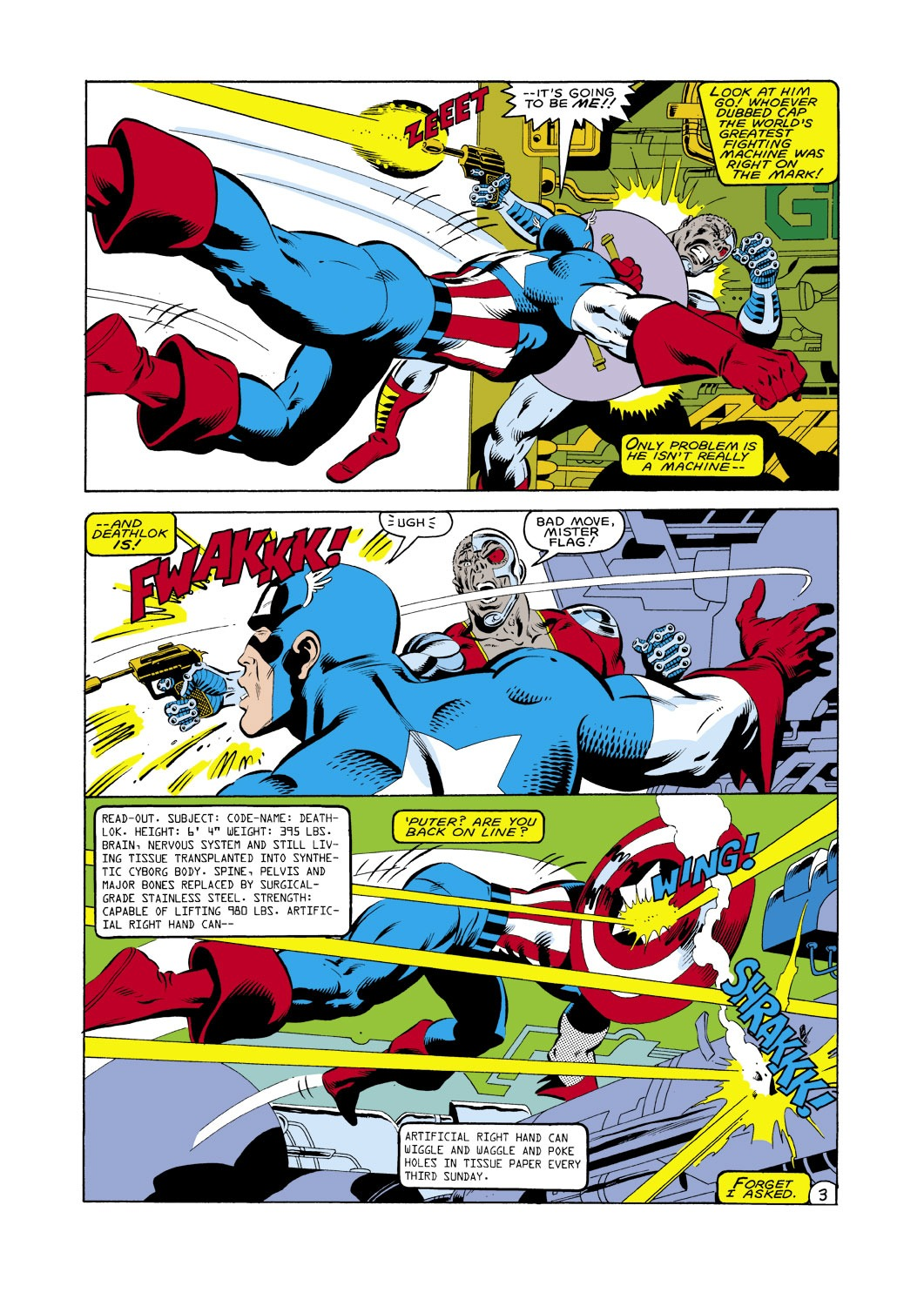 Captain America (1968) Issue #287 #203 - English 4