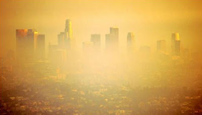air pollution photos - Pittsburgh, Los Angeles have worst U.S. air pollution images