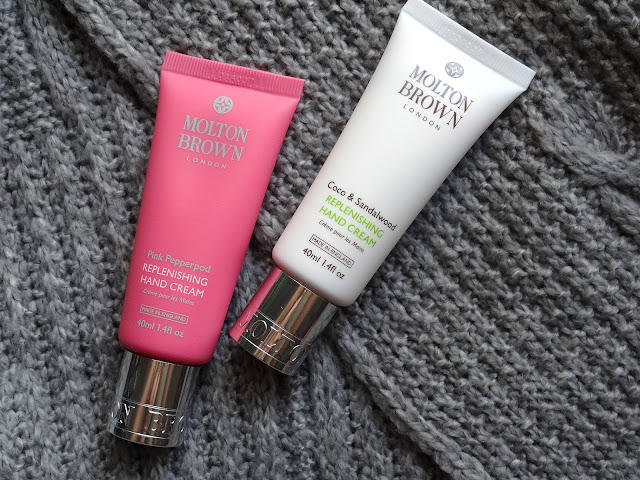 Molton Brown Pink Pepperpod, Coco & Sandalwood Replenishing Hand Creams