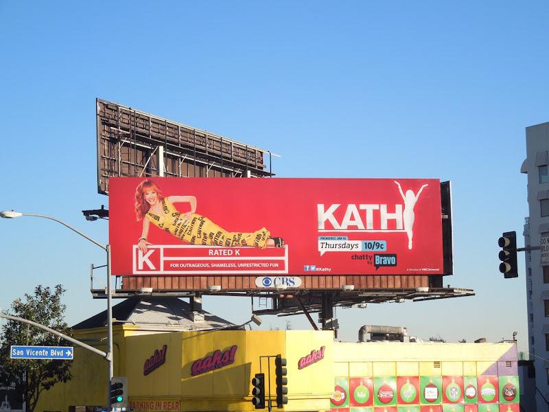 Kathy Griffin season 2 billboard