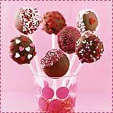 Chocolate Cake Pops Cookie Pops