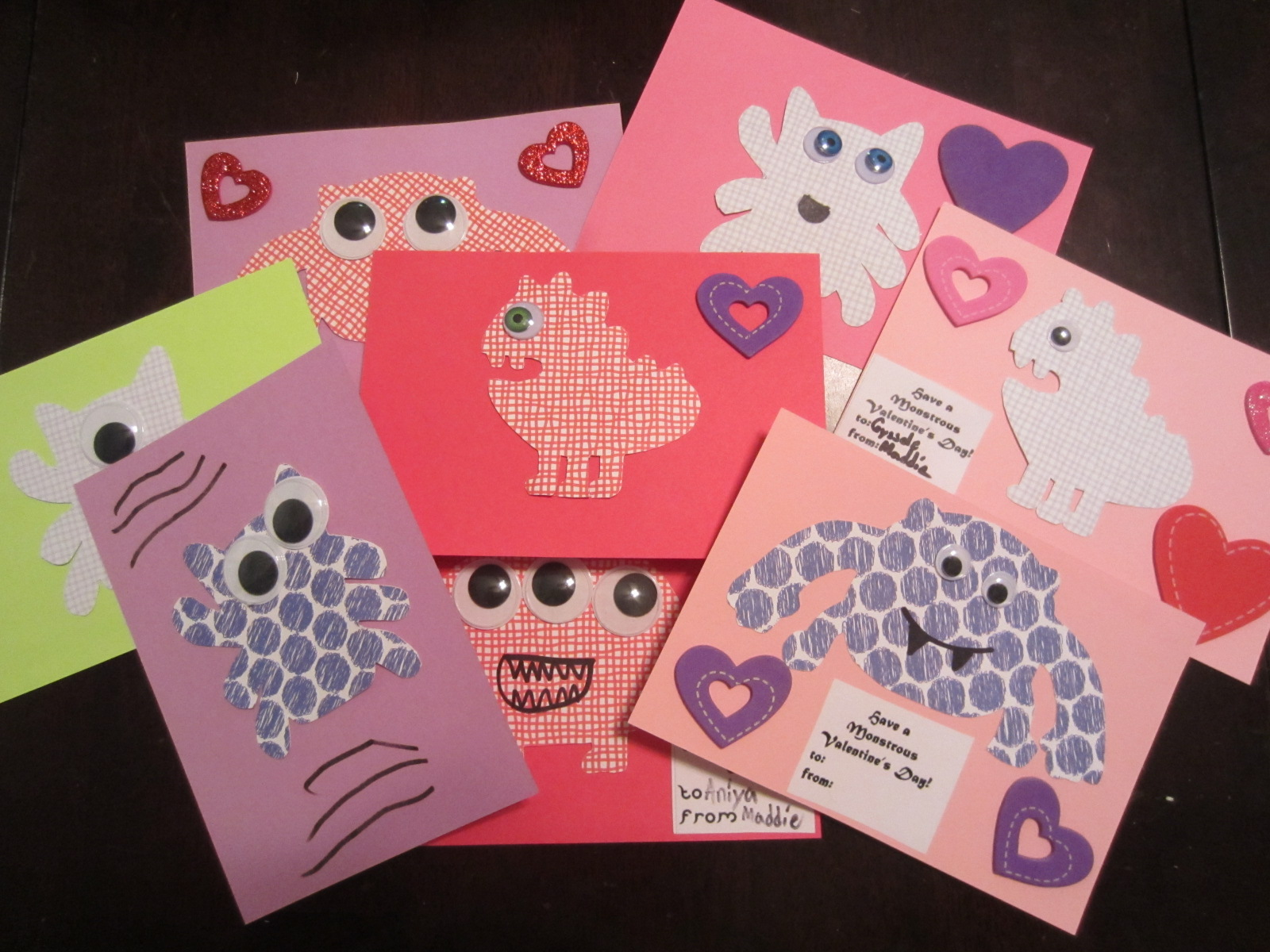 Crafty And Wanderfull Life February 2013 – How to Make Your Own Valentines Card