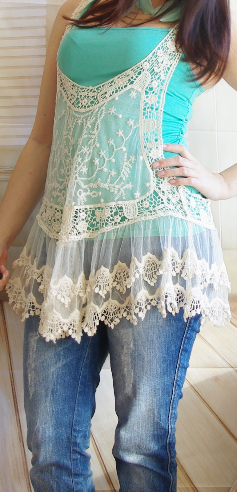 Outfit Mint & Lace Love
