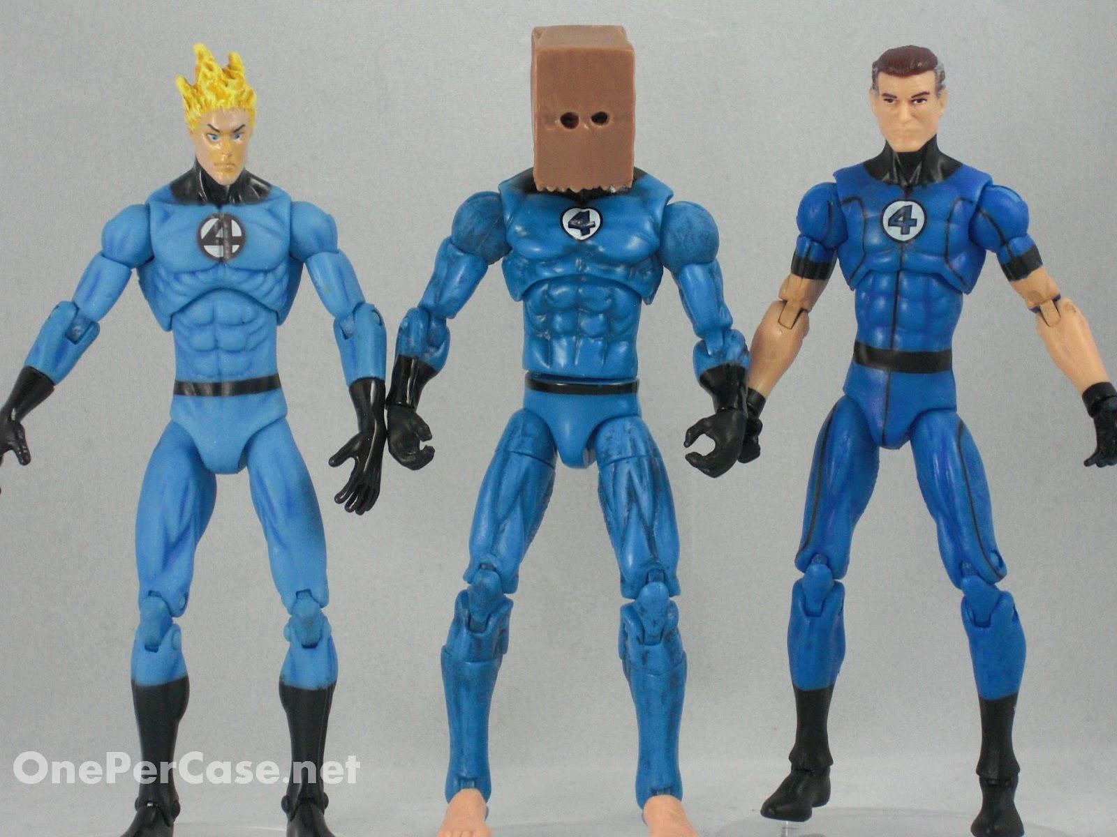 Future foundation spider man 014 bag head variant wave 19
