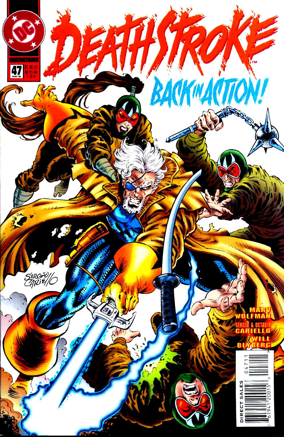 Deathstroke (1991) Issue #47 #52 - English 1