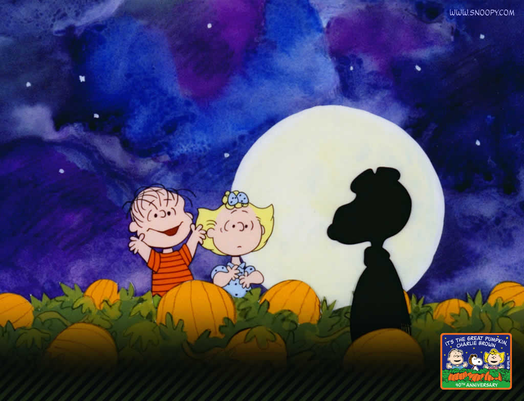 charlie brown halloween wallpaper desktop