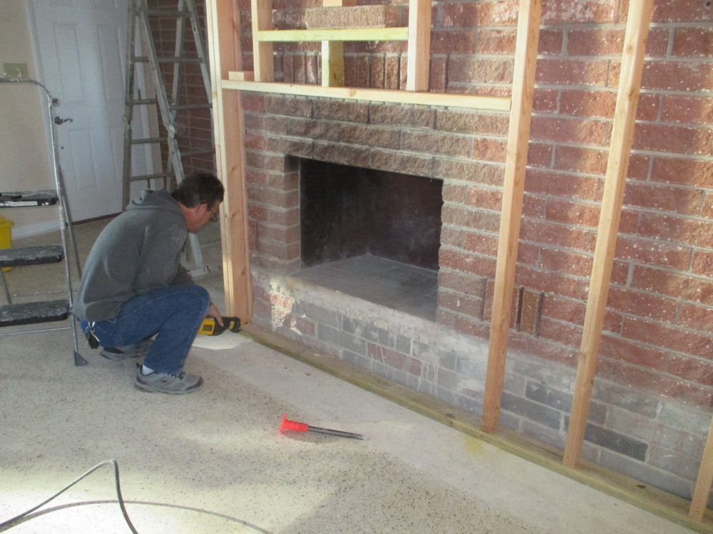 Mike and Lisa's World: Tearing Out A Laminate Floor and Adding ...