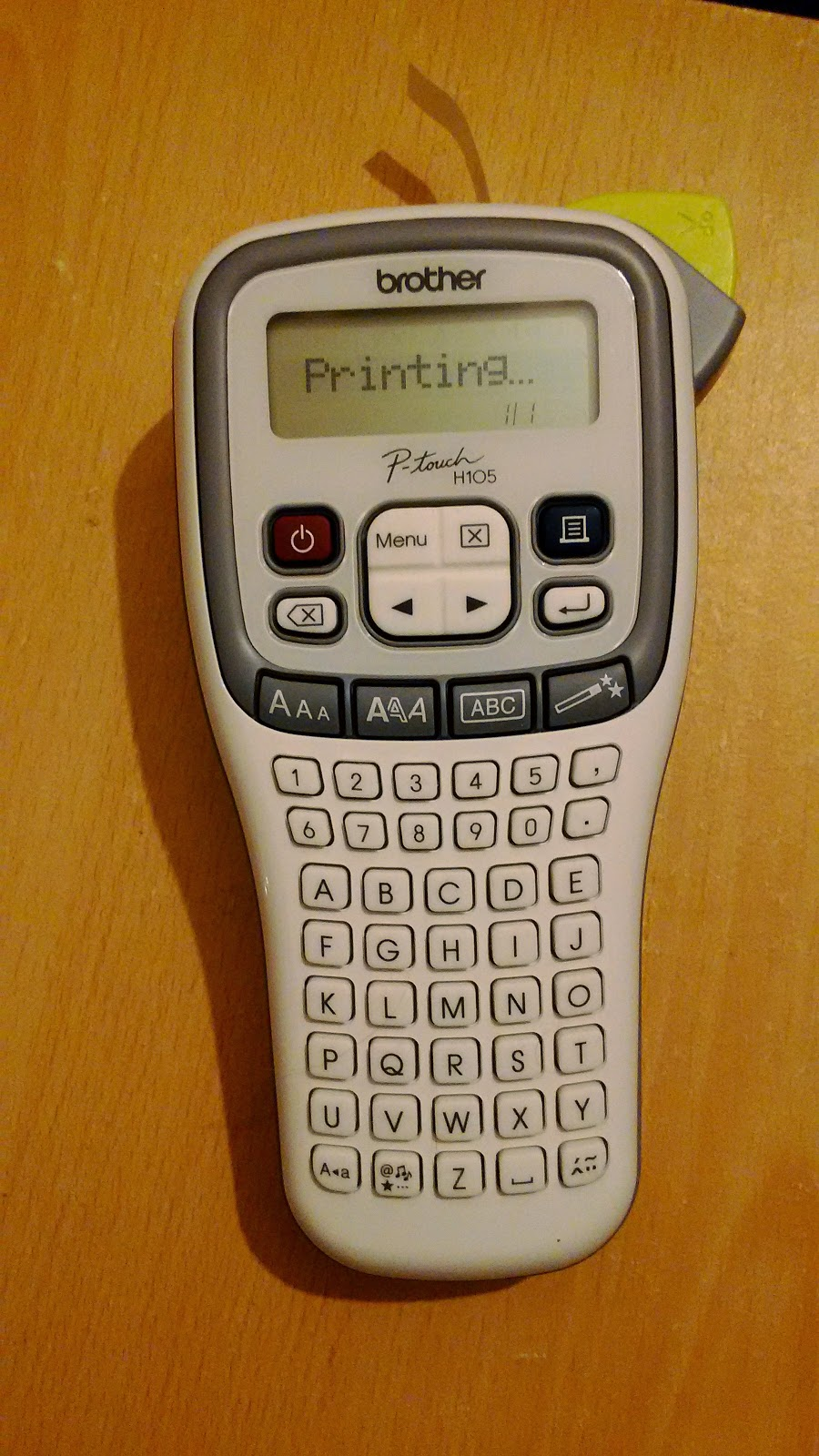 brother p touch label maker instructions