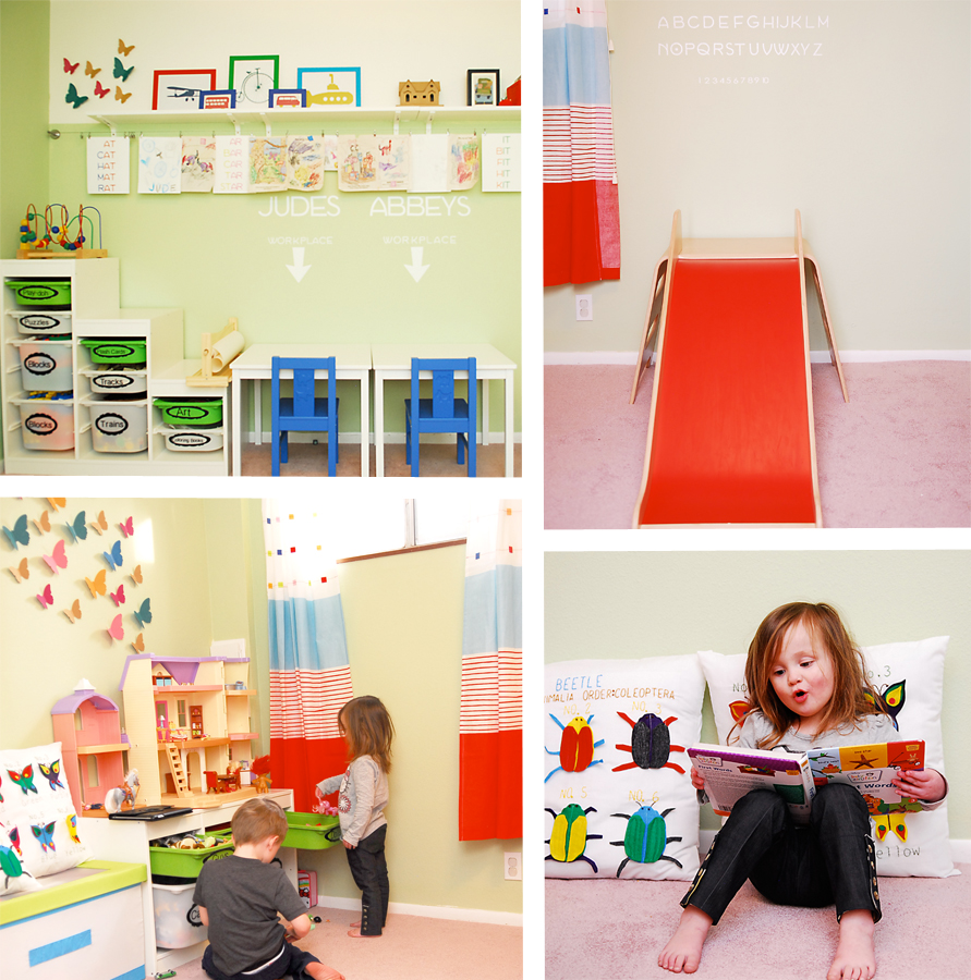Playroom: Playroom Reveal {Before And After}