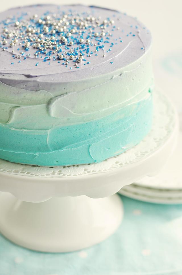 Чем сделать мазки на торте