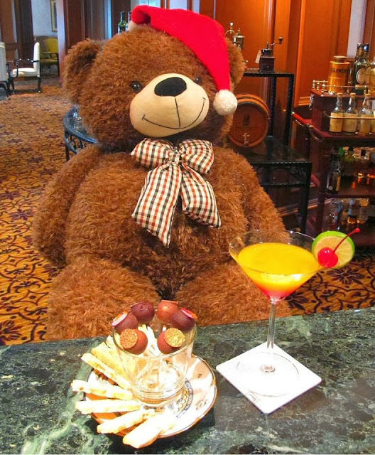 14 Dec 2013 Sat Teddy Bear Tea at Ritz Carlton