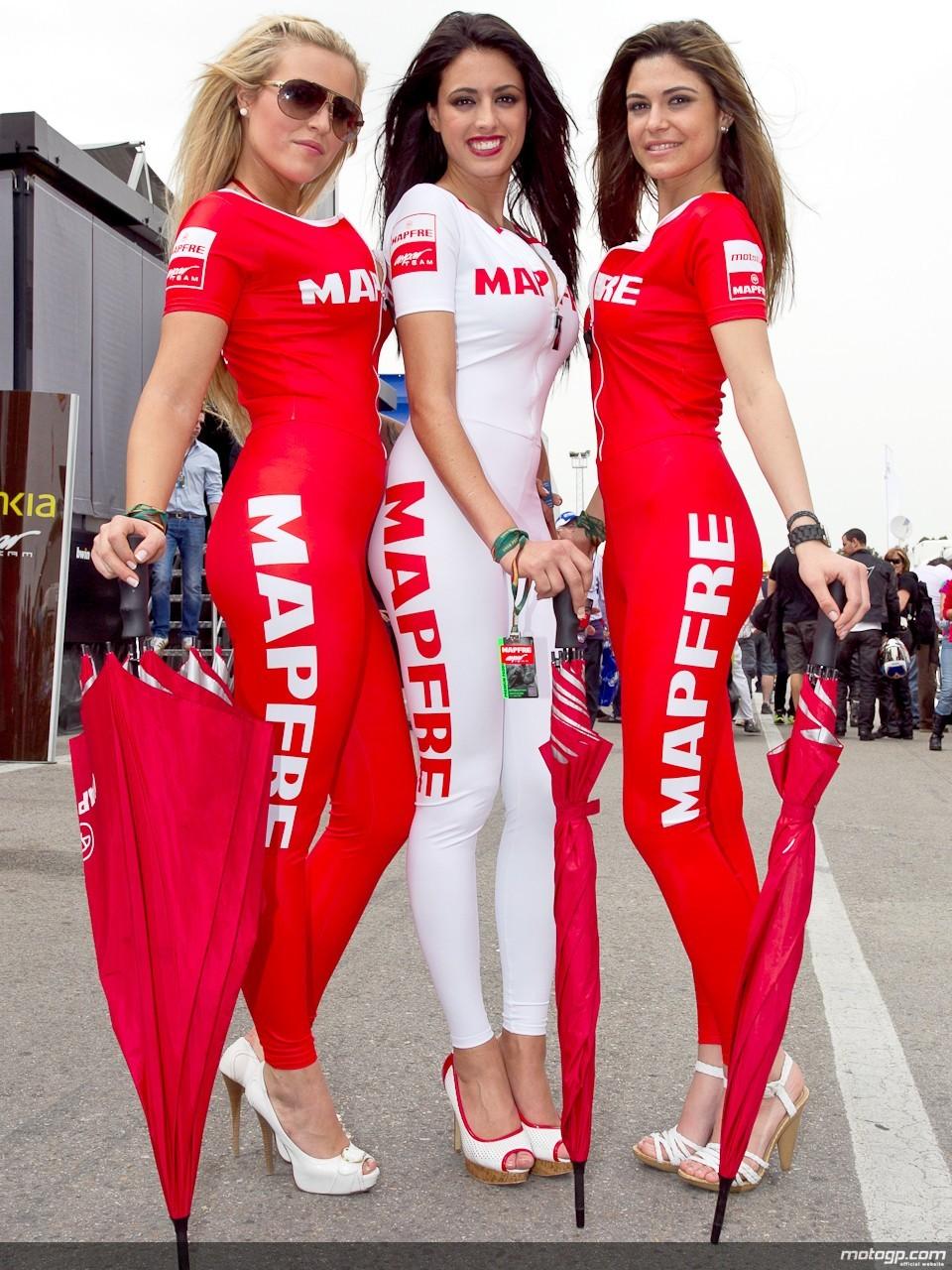 Foto-foto Paddock Girl MotoGP 2012   Catalunya   Los