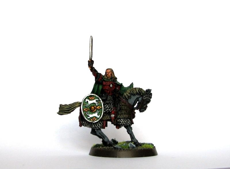 Figurka Eomer Marshal of the Riddermark