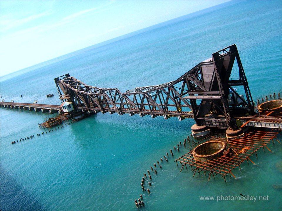பாம்பன் பாலம்  Pamban+Bridge