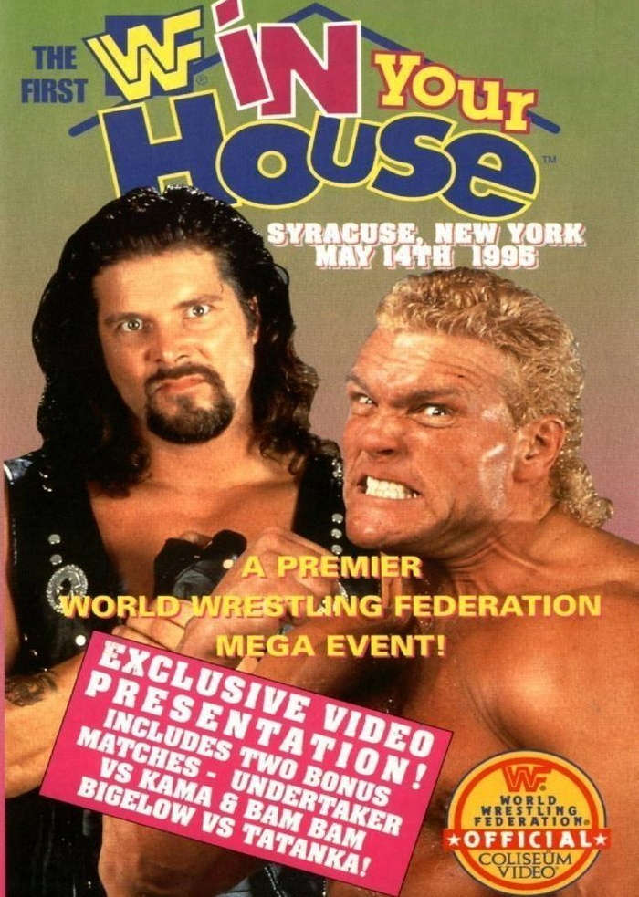 WWF / WWE - In Your House 1 - Event poster / cover