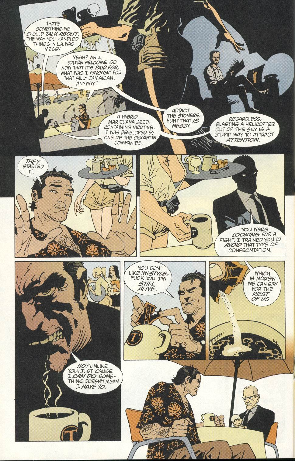 100 Bullets 8 Page 12