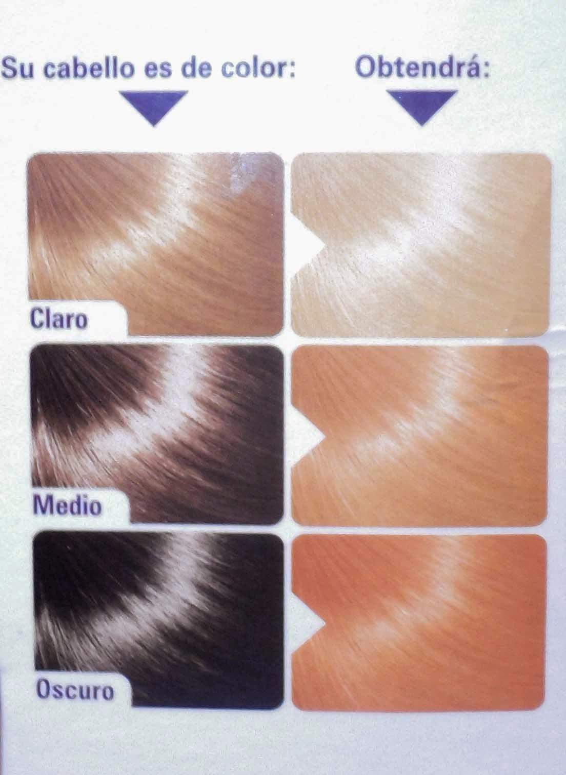decolorante colorcrem resultados