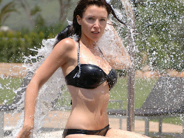 Dannii Minogue in Bikini