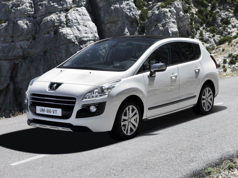 2012 Peugeot 3008 Diesel HYbrid4