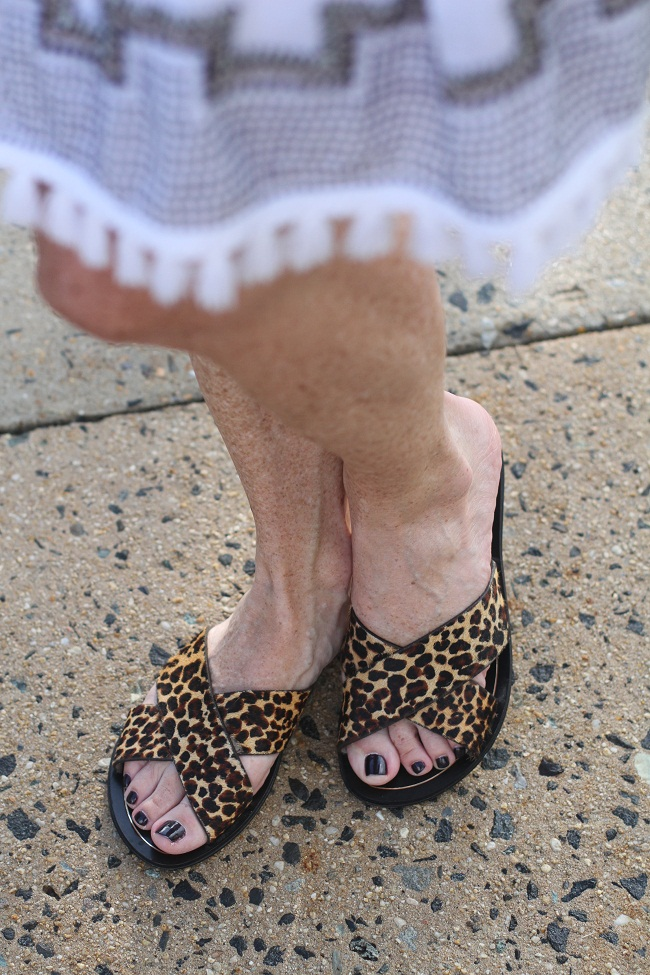 jcrew leopard sandals