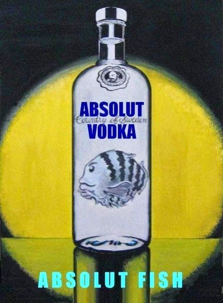 Plakat 1 - Absolut vodka