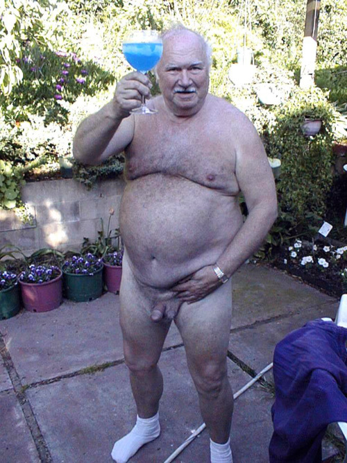 nude men old Fat gay