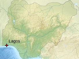 Le Nigeria partagé entre musulmans et chrétiens ferme 55 églises jugées trop bruyantes... dans monde nigeria%2Blagos%2Bcarte