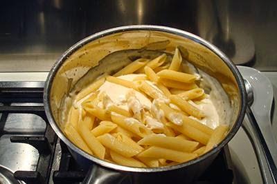 Pasta al formaggio al forno 6