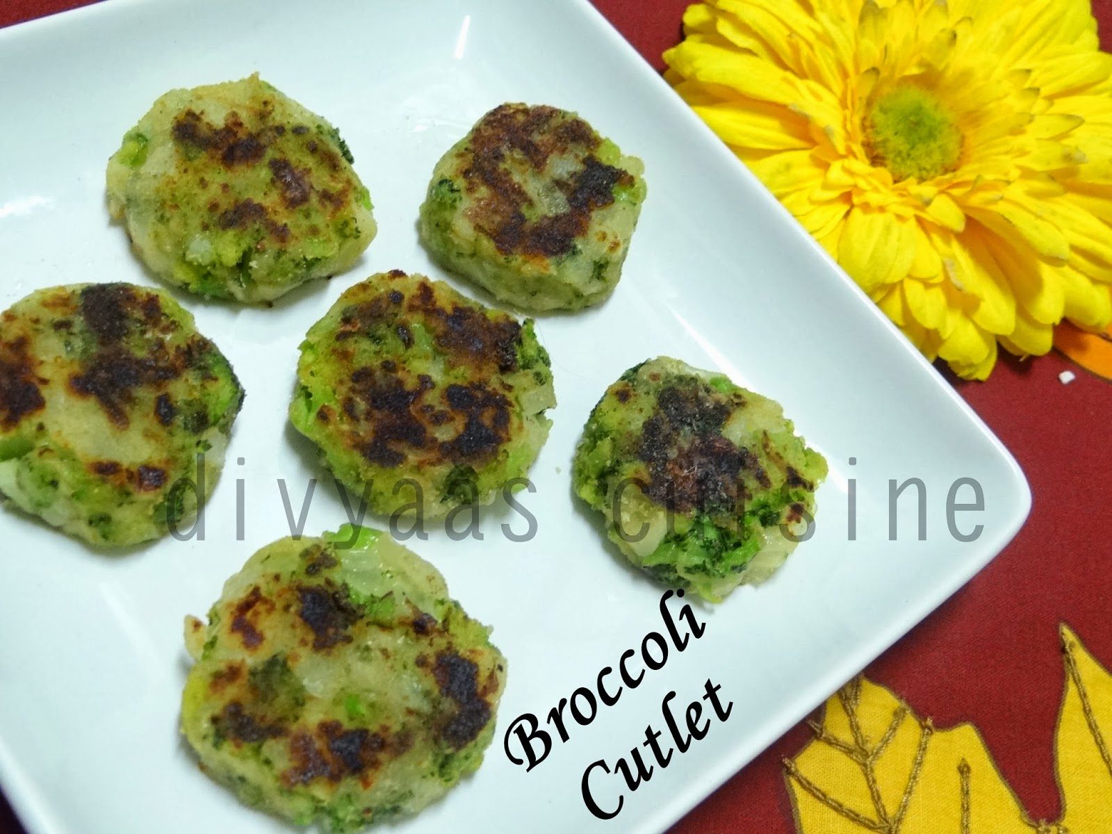 Easy Broccoli Cutlet