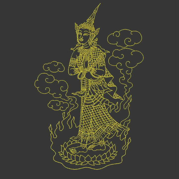 Free embroidery design downloadfree download thai art