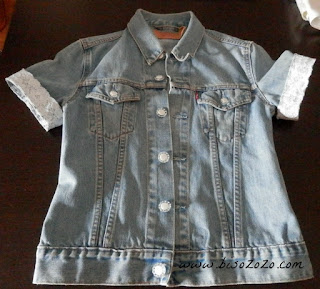 refashion a denim jacket