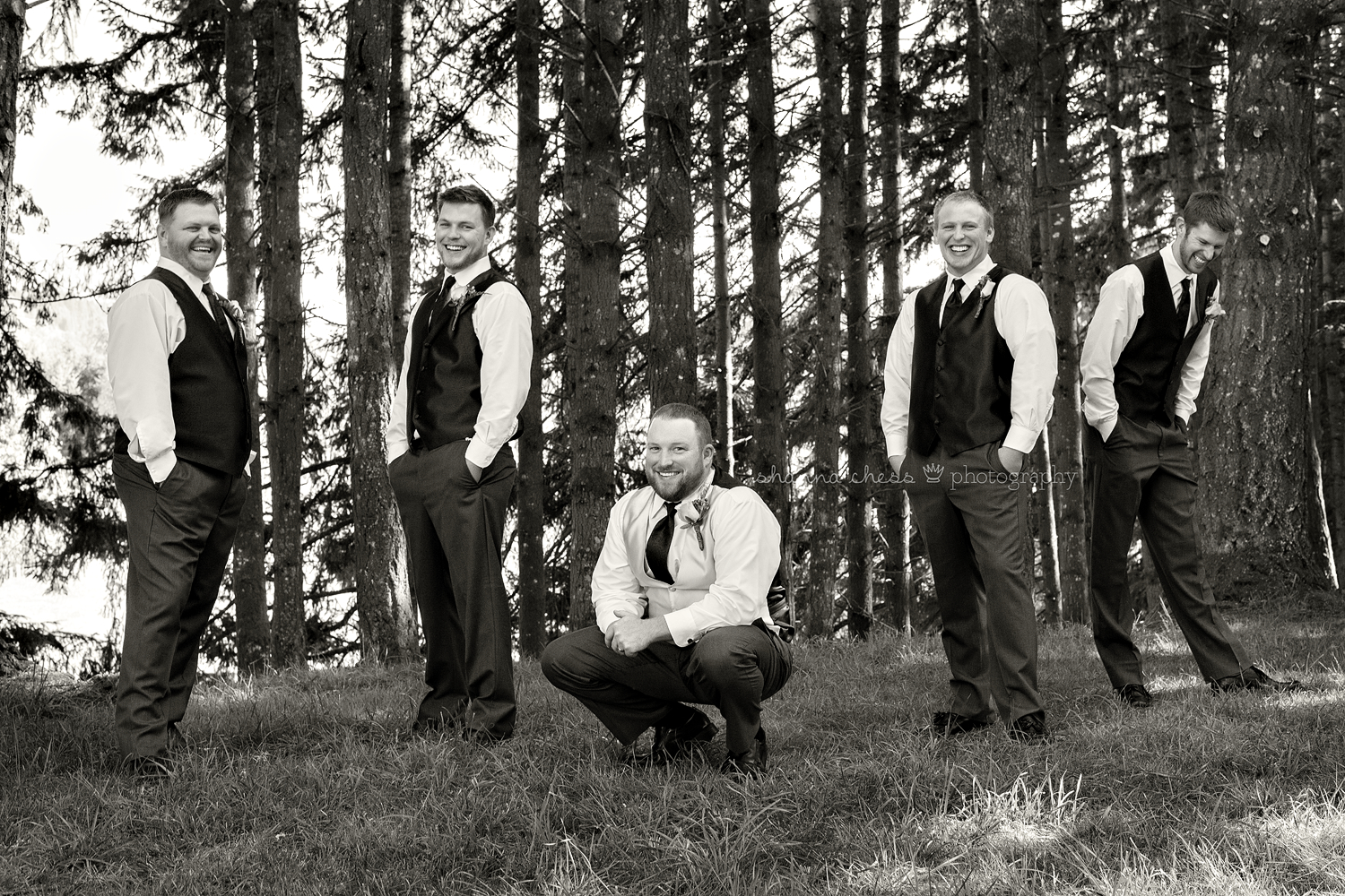 eugene springfield oregon wedding photography groomsmen