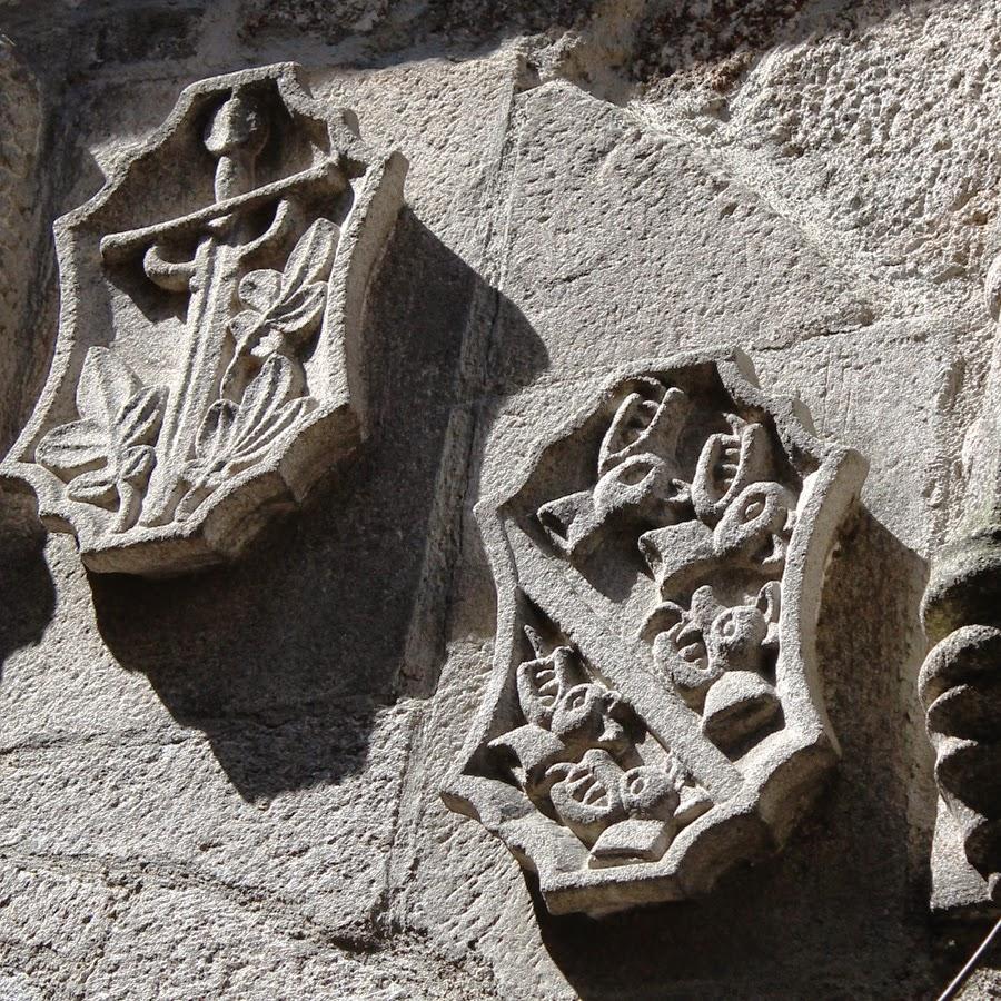 escudos medievales ribadavia inquisición