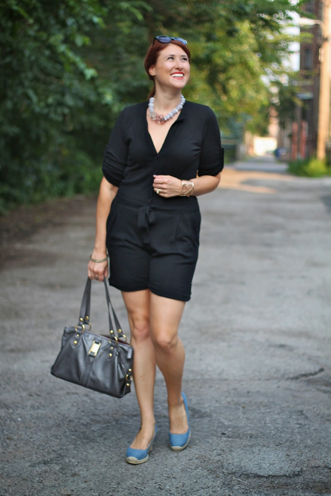 black, bcbg, romper, playsuit