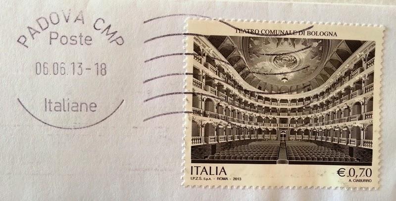 francobollo Teatro comunale di Bologna
