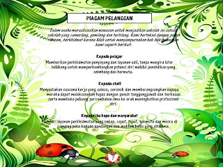 PIAGAM PELANGGAN SEKOLAH