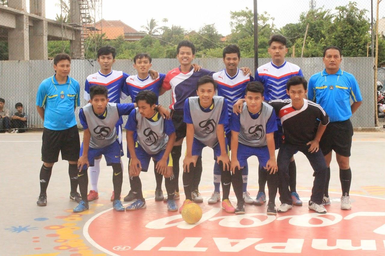 Salah Satu Peserta Lomba Futsal Unsera Cup