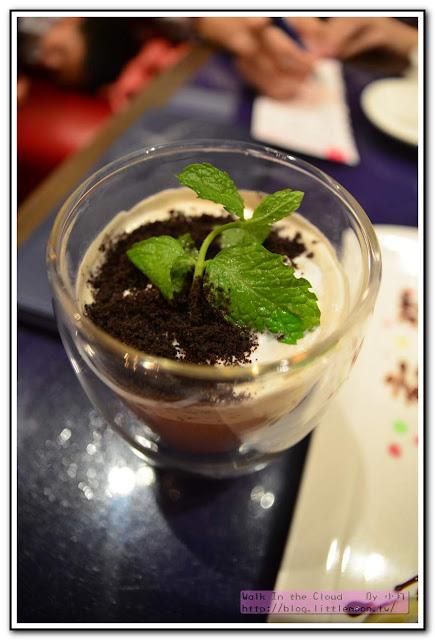 夏慕尼新香榭鐵板燒 - 盆栽奶茶