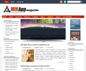 MixApp WordPress Theme