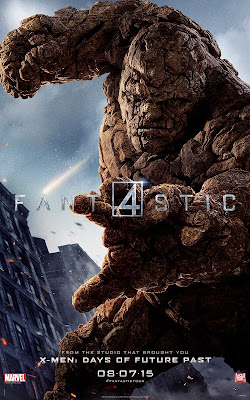 Fantastic Four Character Movie Poster Set - Jamie Bell as Ben Grimm / The Thing