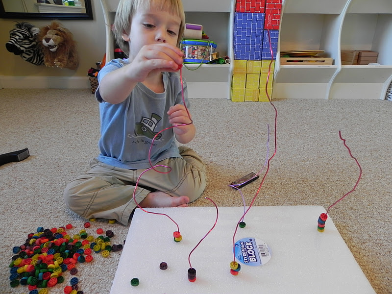 WIRED - DIY Bead Maze! | Activities For Children | Clay and Crafts ...