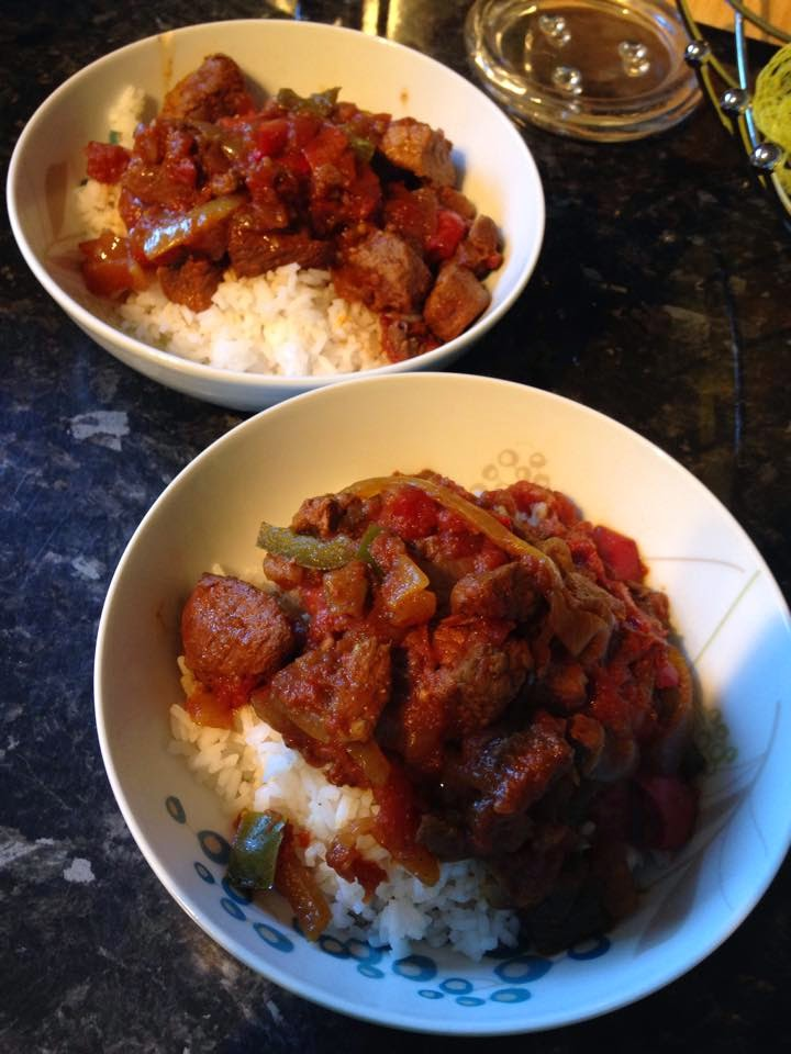 Lamb Rogan Josh Syn Free Slow Cooker Method